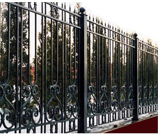ROD IRON FENCING